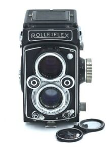 ROLLEIFLEX Automat MX-sync. SYNCHRO-COMPUR Tessar 3.5-75mm, No.1488487,c-1954
