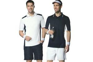 Herren Tennisshorts Tennishose Sporthose kurz Weiß Dunkelblau NEU M L XL XXL NEU
