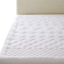 Surmatelas 140X190 cm Matelassé Epais Confort Microfibre Anti Acarien Lavable FR
