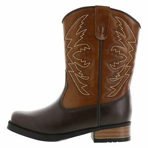 Smartfit Boys Toddler Square Toe Western Boots Footwear