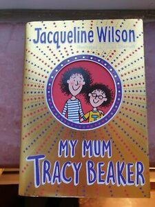 Jacqueline Wilson  My Mum Tracy Beaker Signed 1st Edition 2018