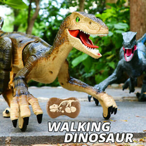 Remote Control T-Rex Dinosaur Simulation Toy With Walking Roaring Gifts For Kids