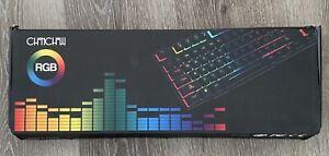 RGB Wired Gaming Keyboard CHONCHOW Rainbow Backlit Mechanical Keyboard Gaming