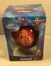 "Miley Cyrus as Disney Hannah Montana Christmas Ornament 3"" Ball Decoration"