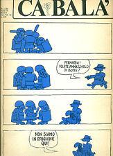 Ca Balà, N.22-23, gennaio-febbraio 1973 Disegni di Chiappori, Braschi, et al.