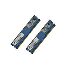 Hp 398706-051 397411-b21 2gb Kit (2x1gb) 2rx4 Pc2 - 5300f Dl360 G5 Dl380 G5 + +
