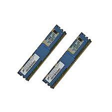 HP 398706-051 397411-B21 2GB  kit (2x1GB) 2Rx4 PC2 - 5300F DL360 G5 DL380 G5 ++