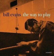 The Way to Play by Bill Evans (Piano) (CD, May-2012, 4 Discs, Proper Box (UK))