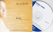 CD CARTONNE CARDSLEEVE COLLECTOR 1T NORAH JONES SUNRISE 2004