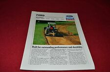 Ford Tractor 781B 782B 783B 785B 786B 788B Blades Dealers Brochure LCOH