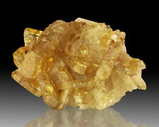 "3.7"" Translucent Bright Yellow BARITE Gemmy Crystals Meikle Mine Nevada for sale"