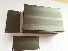 DIY Aluminum Project Box PCB Enclosure Electronic case Black 150x105x55mm