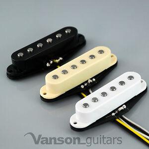 1 x NEW Vanson 'Classic Pro' Alnico V Single Coil Pickup for Strat®* guitars