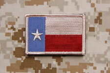 Subdued Texas State Flag Lone Star State Patch Navy SEAL Lone Survivor TEAM 5