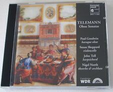 Telemann Oboe Sonatas Toll Goodwin Sheppard GERMAN CD