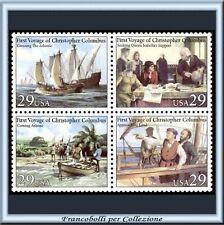 1992 USA Colombo quartina congiunta ITALIA Stati Uniti