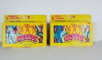 1986 Cutie Mattel #3459 Bitsy Babies  AND #3465 Rockity Rollers Figures NIB LOT