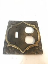 Vintage Amerock Outlet Cover Single Switch / Duplex Receptacle