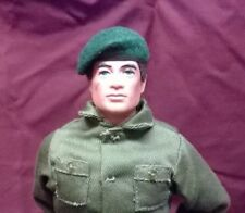 Banjoman 1:6 Scale Custom Made Beret For Vintage Action Man / G I Joe - Green