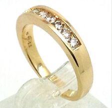 Diamond Natural Round Not Enhanced Fine Gemstone Rings