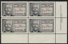 CANADA #474 5¢ Georges Vanier LR Plate Block MNH