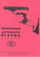 BROWNING FN Model 1910  .32 or .380 Automatic Pistol Gun Manual