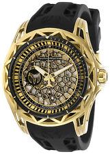 TechnoMarine Men's Technocell TM-318019 47mm Gold Dial Silicone Watch