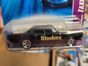 Pittsburgh Steelers Custom designed Hot wheels/diecast 1:64  Plymouth Roadrunner
