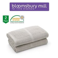 Soft 2ply Large 100/% Cotton Muslin Swaddle Squares Blanket for Baby 75x100cm