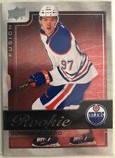 2015-16 Connor Mcdavid Upper Deck Fusion Rookie Card #R1 Mint Edmonton Oilers