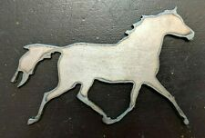 Metal Horse for Crafting Craft Projects Metal Horse Cutout Running Horse Welding
