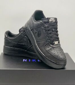 "Nike Air Force 1 Low LV8 "" Black Croc "" Size UK 5 Jordan / Dunk"
