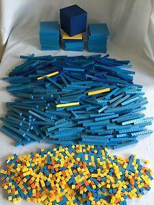 Cuisenaire Math Manipulatives Base 10 - 1000's Cube 1386pcs Homeschool Classroom