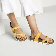 Birkenstock Mayari 37 normal graceful amber yellow gelb 1008836 Zehentrenner NEU