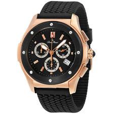 Lucien Piccard Black Dial Chronograph Mens Watch 26585RO