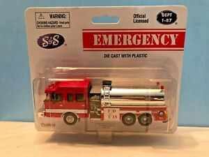Boley #2201-11 S&S Red Fire Tanker Truck Retired Authentic Boley