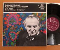VIC 1265 Strauss Also Sprach Zarathustra Don Juan Reiner Chicago RCA ED1 Mono NM