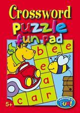 Crossword Puzzle Fun Pad (Learning Is Fun)