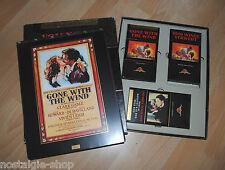 Du Winde autant en emporte le vent Box 3 VHS et Affiche de film Movie MGM