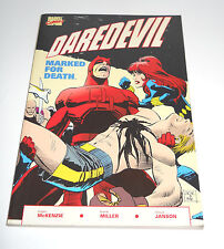 Daredevil in Marked for Death VF- 1st 1990 TPB GN Graphic Novel ~ Fast Ship ~