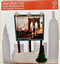 Customs by Red 5th Ave Louis Vuitton Billboard For Dept56 Christmas in the City