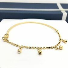 18k Yellow Gold Charm Bracelet And Bangle