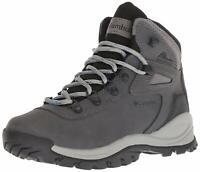 Columbia Women's Newton Ridge Plus Hiking Boot, Quarry/Cool Wave, Size 10.5 oAhQ