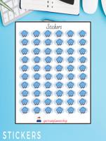 Rain, weather tracker  stickers sheets Planner Agenda,Stickers