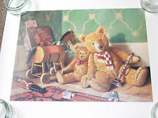 """Lovely Poster – """"Ted and Friends by Ray Campbell"""""""