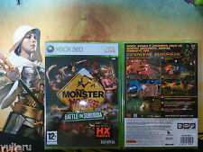MONSTER MADNESS BATTLE FOR SUBURBIA XBOX360, NUOVO