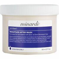 Minardi: System 1 Weightless Hair After-Wash, 27 oz