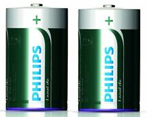 Philips LONGLIFE 2X R20–foilpack Batteries BEST BEFORE 01/2017 SIZE D