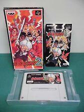 SNES -- GO GO ACKMAN 2 -- Box. Super famicom. Japan game. work fully.