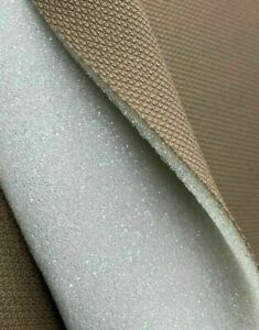 2mm Foam Fabric - Excellent for under lining a hard surface Various Uses